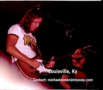 David Gilmour; Snowy White; Pink Floyd; Freedom Hall Louisville, Kentucky