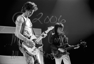 Keith Richards & Bill Wyman [The Rolling Stones - Freedom Hall, Louisville Ky 11-3-81]