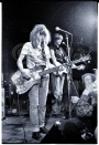 Michael Conen - Kim Gordon & Thurston Moore behind bright lights