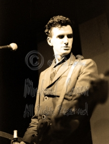 Mick Harvey is rock solid in the spotlight for this one