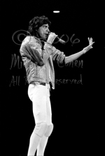 Mick Jagger 'come hither' [The Rolling Stones - Rupp Arena, Lexington Ky 12-11-81]