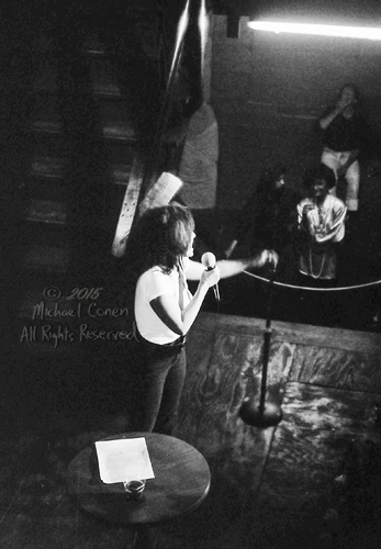 Michael Conen - [PROOF] Lydia Lunch from balcony [Lydia Lunch -