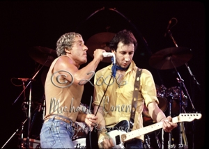 Roger Daltry & Pete Townshend #2 [The Who - Rupp Arena, Lexington Ky 7-11-80]