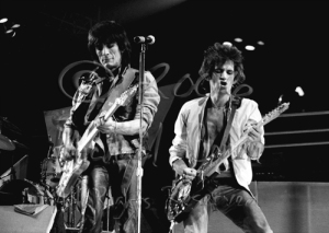Ron Wood & Keith Richards 2 [The Rolling Stones - Rupp Arena, Lexington Ky 12-11-81]