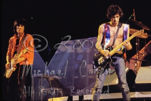 Ron Wood & Keith Richards [The Rolling Stones - Rupp Arena, Lexington Ky 12-11-81]