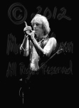 Tom Petty & Flying V hand raised 2 [TP and the Heartbreakers - Louisville Memorial Auditorium 9-20-78]