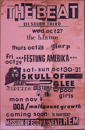 Poor Girls Poster Halloween less sharp