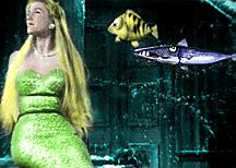mermaid-and-fish-colorized
