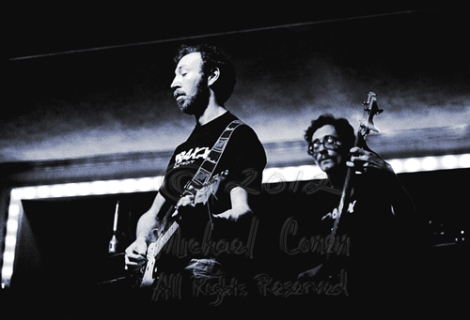 Michael Conen -  Richard Thompson and Pete Zorn eyes closed hori