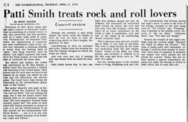 patti-smith-louisville-live-review-4-27-78
