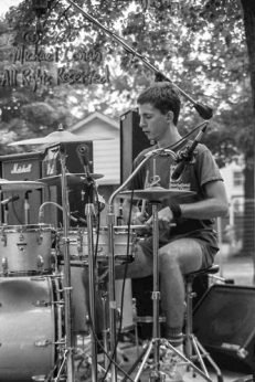 "Babylon Dance Band Swiss Park Louisville, Kentucky 8-7-82 These photos were taken on print film, and then digitally scanned at 2000 dpi. All images viewed here are ""proofs"" of the negatives. Serious inquiries regarding further publication will be entertained. Please contact me with comments, questions, etc. at michaelconen@tutanota.com Babylon Dance Band; Swiss Park; Louisville; Kentucky; 8-7-82; Any further use requires permission from the photographer; Michael Conen."