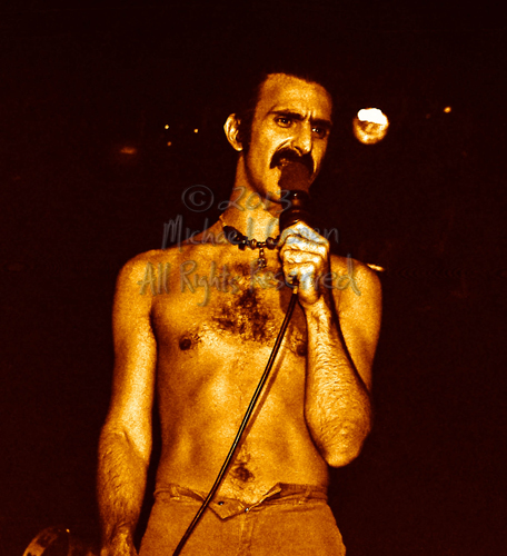 Michael Conen - [PROOF] Frank Zappa closeup with mic [Frank Zapp
