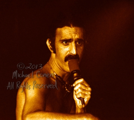 Michael Conen - [PROOF] Frank Zappa closeup with mic no 2 [Frank