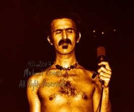 "Frank Zappa Louisville Gardens Louisville, Kentucky 11-10-77 These photos were taken on print film, and then digitally scanned at 2000 dpi. All images viewed here are ""proofs"" of the negatives. Serious inquiries regarding further publication will be entertained. Please contact me with comments, questions, etc. at michaelconen@tutanota.com Frank Zappa; Louisville Gardens; Louisville; Kentucky; 11-10-77; Any further use requires permission from the photographer; Michael Conen"