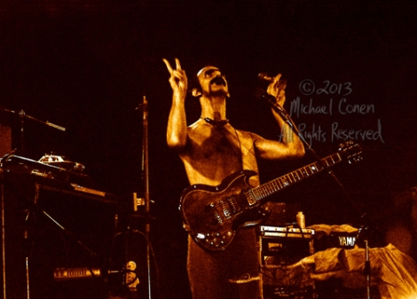 Michael Conen - [PROOF] Frank Zappa & guitar gazing upward horiz