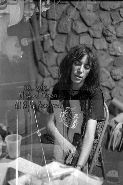 Michael Conen - [PROOF] Patti Smith backstage collage 3 [Patti S