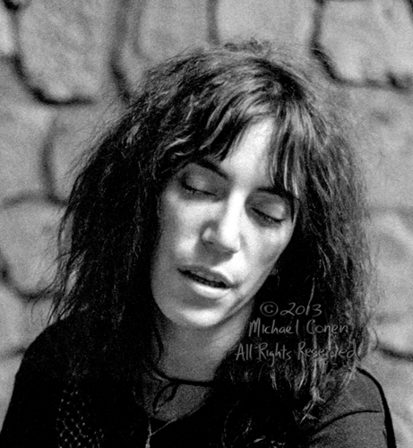 Michael Conen - [PROOF] Patti Smith backstage collage 3 RE [Patt