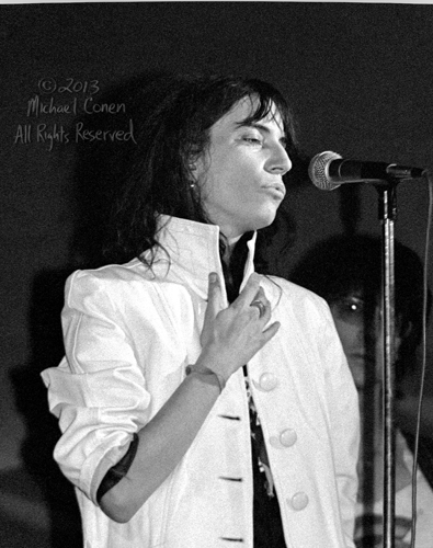 Michael Conen - [PROOF] Patti Smith hand and pout RE detail [Pat