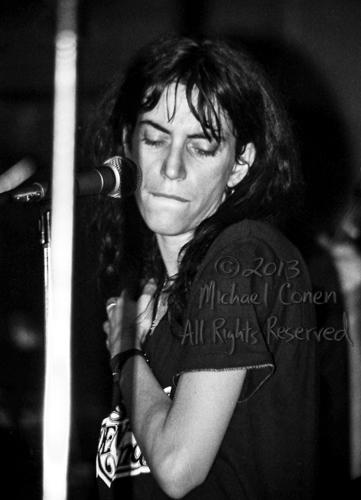 Michael Conen - [PROOF] Patti Smith pursed lips shadow [Patti Sm