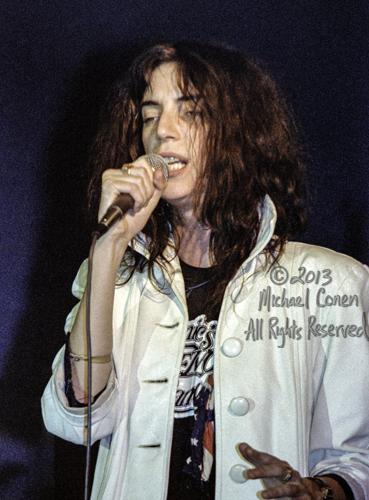 Michael Conen - [PROOF] Patti Smith white jacket early 4 COLOR R