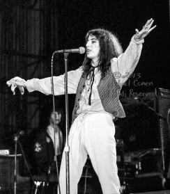 """Patti Smith Group Louisville Memorial Auditorium Louisville, Kentucky 4-26-78 *** Patti Smith Group; Louisville Memorial Auditorium; Louisville; Kentucky; 4-26-78; Any further use requires permission from the photographer; Michael Conen. *** These photos were taken on print film, and then digitally scanned at 2000 dpi. All images viewed here are """"proofs"""" of the negatives. Serious inquiries regarding further publication will be entertained. Please contact me with comments, questions, etc. at michaelconen@tutanota.com"""