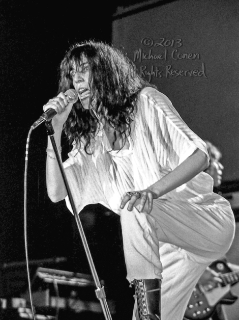 Michael Conen - [PROOF] Patti Smith intense moment LG [Patti Smi