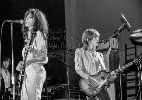 Michael Conen - [PROOF] Patti Smith, Ivan Kral & Bruce Brody hor