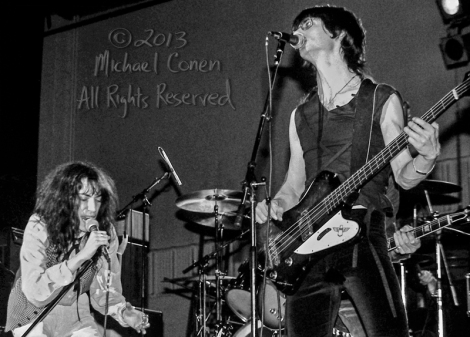 Michael Conen - [PROOF] Patti Smith & Lenny Kaye horizontal LG [