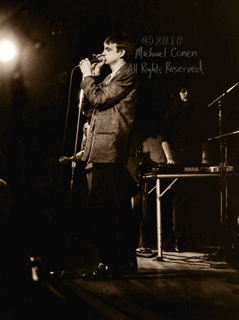 Michael Conen - [PROOF] Mark E. Smith jacket with Craig Scanlon