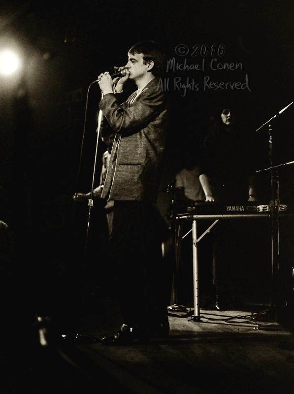 Michael Conen - [PROOF] Mark E. Smith jacket with Craig Scanlon