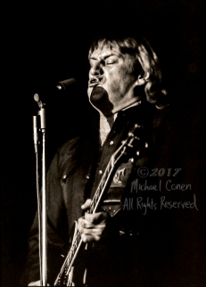 "Alvin Lee & Mick Taylor Louisville Gardens Louisville, Kentucky 12-9-81 *** These photos were taken on print film, and then digitally scanned at 2000 dpi. All images viewed here are ""proofs"" of the negatives. Serious inquiries regarding further publication will be entertained. Any further use requires permission from the photographer; Michael Conen Please contact me with comments, questions, etc. at michaelconen@tutanota.com"