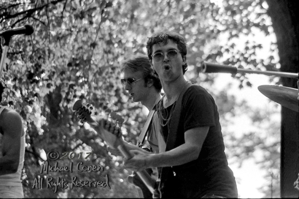 """Jil Thorp & The Beat Boys Swiss Park Louisville, Kentucky 8-7-82 *** These photos were taken on print film, and then digitally scanned at 2000 dpi. All images viewed here are """"proofs"""" of the negatives. Serious inquiries regarding further publication will be entertained. Any further use requires permission from the photographer; Michael Conen Please contact me with comments, questions, etc. at michaelconen@tutanota.com"""