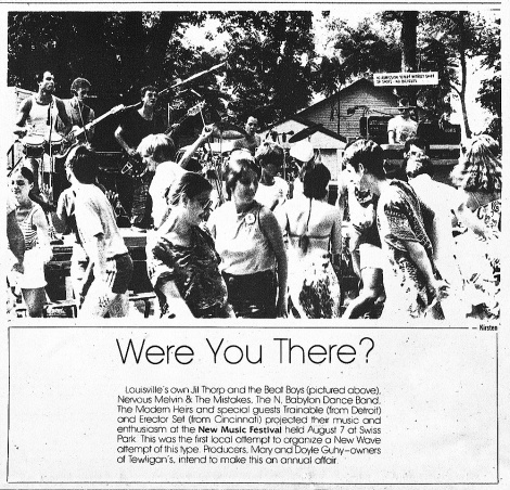 Were you there? at Swiss Park on August 7th, 1982