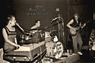 "Jil Thorp & The Beat Boys Tewligan's Louisville, Kentucky 7-9-82 *** These photos were taken on print film, and then digitally scanned at 2000 dpi. All images viewed here are ""proofs"" of the negatives. Serious inquiries regarding further publication will be entertained. Any further use requires permission from the photographer; Michael Conen Please contact me with comments, questions, etc. at michaelconen@tutanota.com"