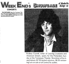 AD - PRETENDERS CROWELL FOCUS - The_Tennessean_Fri__Aug_14__1981_ copy