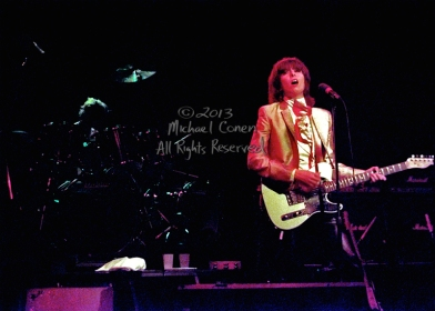 The Pretenders in concert Stanley Theatre Pittsburgh, Pennsylvania 9-26-81
