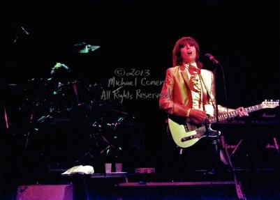 The Pretenders in concert Stanley Theatre Pittsburgh, Pennsylvania 9-26-81