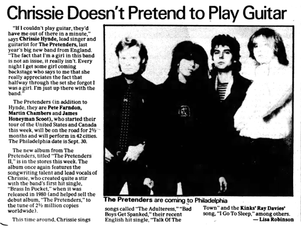 Pretenders article Philadelphia_Daily_News_Wed__Aug_12__1981_ copy