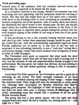 Pretenders article pt 2 Fort_Lauderdale_News_Fri__Aug_14__1981_ copy