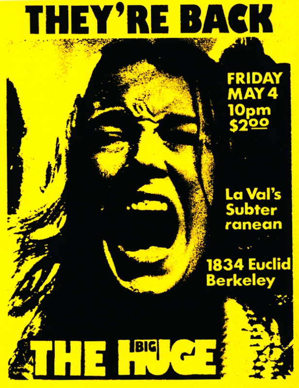 the big huge flyers - laval's subterranean, berkeley ca [may 4, 1990]