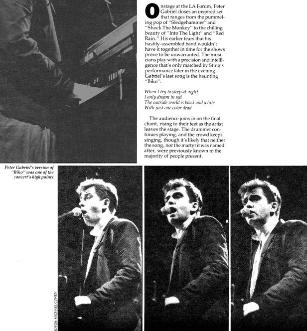 Amnesty BAM Gabriel [7-11-86] ephemera 1