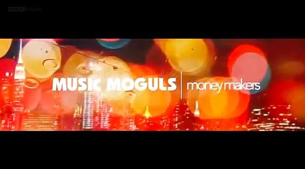 BBC Music Moguls - Moneymakers title