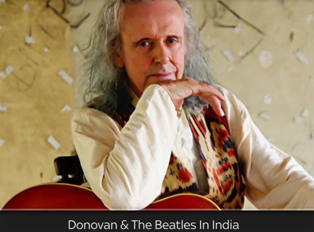 Donovan & the Beatles in India