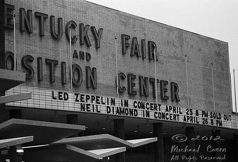 Led Zeppelin - Freedom Hall Marquee 4-25-77 [Louisville, Kentuck