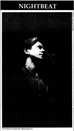 Tuxedomoom BAM [7-11-86] ephemera