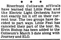 ELO & Little Feat booking change_Cincinnati_Enquirer_Fri__Feb_20__1976